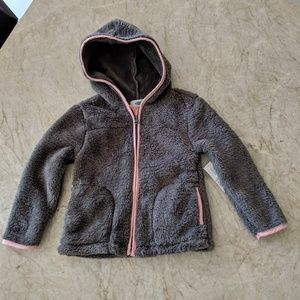 Other - NWT Littls Girl Thick Fleece Hooded Jacket 3T
